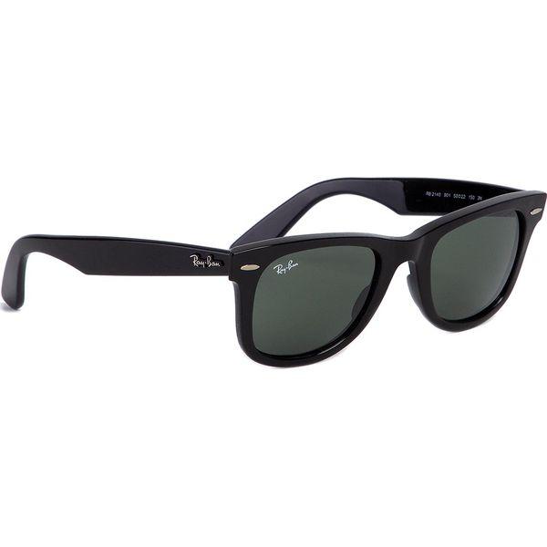 Ray Ban Okulary Czarne okulary przeciwsłoneczne damskie