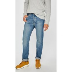 Levi's - Jeansy 501. Brązowe jeansy męskie Levi's. Za 329.90 zł.