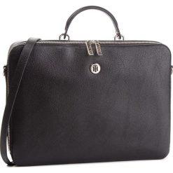 Torba na laptopa TOMMY HILFIGER - Core Laptop Bag AW0AW05826 002. Czarne torby na laptopa damskie Tommy Hilfiger, ze skóry ekologicznej. Za 649.00 zł.