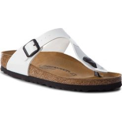 Japonki BIRKENSTOCK - Arizona Bs 0543763 Patent White. Białe klapki damskie Birkenstock, ze skóry ekologicznej. W wyprzedaży za 269.00 zł.