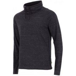 4F Męska Koszulka H4Z17 tsml003 Czarny Melanż S. Czarne koszulki sportowe męskie 4f, z bawełny, z długim rękawem. W wyprzedaży za 56.00 zł.