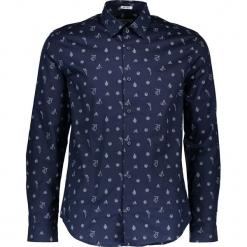 Koszula w kolorze granatowym. Niebieskie koszule męskie Ben Sherman, z bawełny, z klasycznym kołnierzykiem. W wyprzedaży za 152.95 zł.