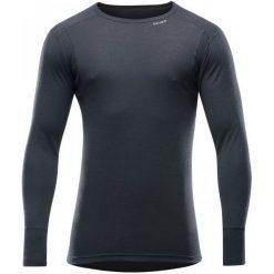 Devold Koszulka Męska Hiking Man Shirt Black M. Czarne koszulki sportowe męskie Devold, na lato, z wełny, z długim rękawem. Za 279.00 zł.