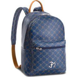 Plecak EVA MINGE - Mollet 4B 18NN1372624EF  113. Niebieskie plecaki damskie Eva Minge, ze skóry, eleganckie. W wyprzedaży za 479.00 zł.