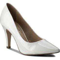 Półbuty CAPRICE - 9-22416-20 White Patent 123. Białe półbuty damskie Caprice, z lakierowanej skóry. W wyprzedaży za 179.00 zł.
