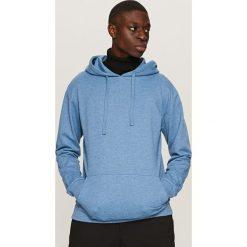 Bluza z kapturem - Niebieski. Niebieskie bluzy dla chłopców Reserved. Za 99.99 zł.