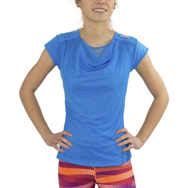 48a1f6cb46e4a9 Adidas Koszulka damska Adizero Capsl niebieska r. XS (D83696) - T ...