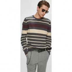 Brave Soul - Sweter. Szare swetry przez głowę męskie Brave Soul, z dzianiny, z okrągłym kołnierzem. W wyprzedaży za 79.90 zł.