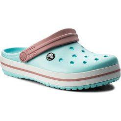 Klapki CROCS - Crocband 11016 Ice Blue/White. Niebieskie klapki damskie Crocs, z tworzywa sztucznego. W wyprzedaży za 159.00 zł.