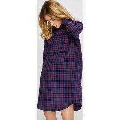 Lauren Ralph Lauren - Koszula nocna. Szare koszule nocne damskie Lauren Ralph Lauren, z bawełny. Za 319.90 zł.