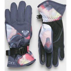 Roxy - Rękawiczki. Czerwone rękawiczki damskie Roxy, z materiału. W wyprzedaży za 159.90 zł.