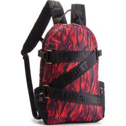 Plecak PLEIN SPORT - Sky 04 MBA0445  Red. Czerwone plecaki damskie Plein Sport, z materiału, sportowe. Za 1,699.00 zł.
