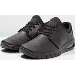 Nike SB STEFAN JANOSKI MAX Tenisówki i Trampki black/metallic pewter. Trampki męskie Nike SB, z materiału. W wyprzedaży za 512.10 zł.