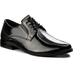 Półbuty LASOCKI FOR MEN - MI08-C343-381-03 Czarny. Czarne eleganckie półbuty Lasocki For Men, ze skóry. Za 199.99 zł.