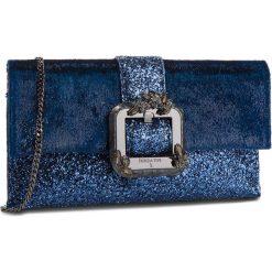 Torebka PATRIZIA PEPE - 2V8211/A4P9-XT07  Velvet/Glitterblue. Niebieskie torebki do ręki damskie Patrizia Pepe, z materiału. W wyprzedaży za 969.00 zł.