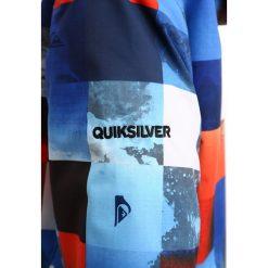 Quiksilver MISSION Kurtka snowboardowa blue red icey check. Kurtki i płaszcze dla chłopców Quiksilver, z materiału. W wyprzedaży za 449.10 zł.