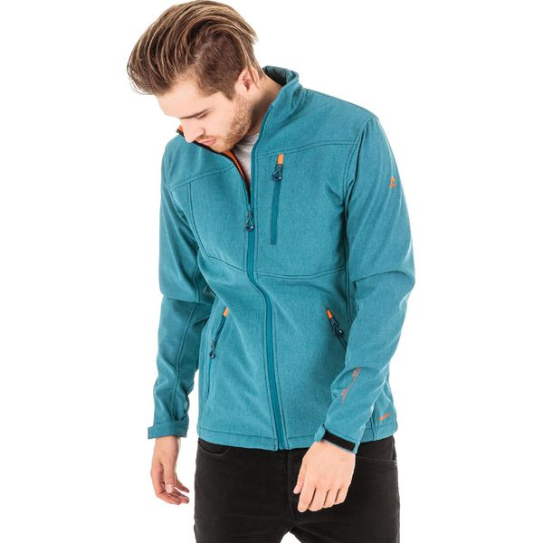 8512cd8df3ccf ELBRUS Kurtka męska Softshell Ignar Bluesteel/Hawaiian Sunset r. M ...