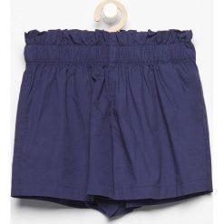 Bawełniane szorty - Granatowy. Spodenki dla dziewczynek Reserved, z bawełny. W wyprzedaży za 19.99 zł.