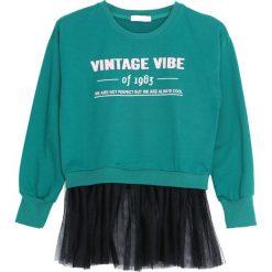Zielona Bluza Like This Paradise. Zielone bluzy dla dziewczynek Born2be. Za 49.99 zł.