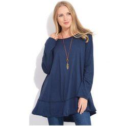 Fille Du Couturier Bluzka Damska Ginger 42 Ciemny Niebieski. Niebieskie bluzki damskie Fille Du Couturier, z bawełny. W wyprzedaży za 229.00 zł.