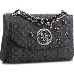Torebka GUESS - HWDB66 23210  BDM. Czarne torebki do ręki damskie Guess, z materiału. Za 629.00 zł.
