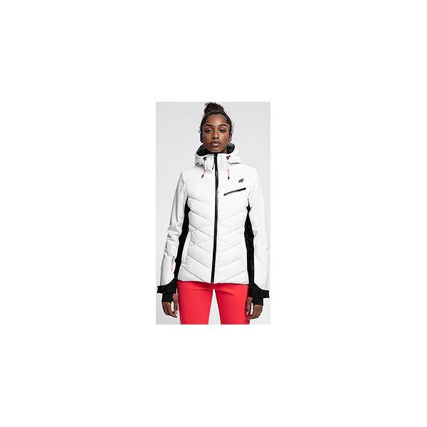 583274b4de164 Kurtka narciarska damska KUDN256 - biały - Kurtki damskie marki 4f ...