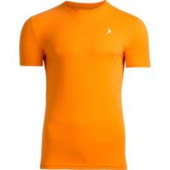 T-shirt męski TSM601 - pomarańcz - Outhorn. Brązowe t-shirty męskie Outhorn, na lato, z bawełny. W wyprzedaży za 29.99 zł.