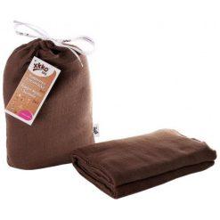 Xkko Bmb Bambusowy Ręcznik/Kocyk 120X120 - Dark. Brązowe kocyki dla dzieci Xkko. Za 79.00 zł.