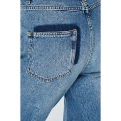 Review - Jeansy Boyfriend. Niebieskie jeansy damskie Review. Za 219.90 zł.