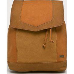 Roxy - Plecak. Brązowe plecaki damskie Roxy, z materiału. Za 229.90 zł.