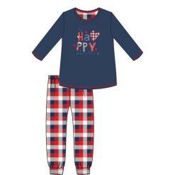 Piżama Young Girl 299/31 Happy granatowa r. 176. Szare bielizna dla chłopców Cornette. Za 71.28 zł.