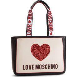 Plecak LOVE MOSCHINO - JC4154PP17L3100A  Nero/Avario. Czarne plecaki damskie Love Moschino, ze skóry ekologicznej, klasyczne. Za 779.00 zł.