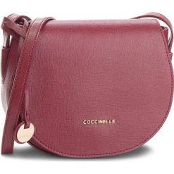 Torebka COCCINELLE - CF5 Clementine E1 CF5 15 02 01 Grape R04. Czerwone listonoszki damskie Coccinelle, ze skóry. Za 949.90 zł.