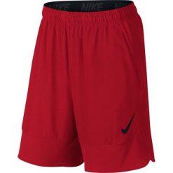 """Nike Spodenki Treningowe Flex 8"""" 742242 657 Xl. Czerwone krótkie spodenki sportowe męskie Nike, z tkaniny. W wyprzedaży za 139.00 zł."""