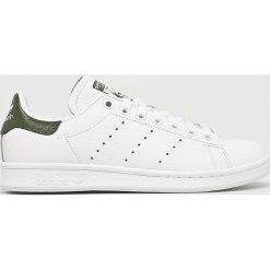 Adidas Originals - Buty Stan Smith. Szare obuwie sportowe damskie adidas Originals, z gumy. Za 379.90 zł.
