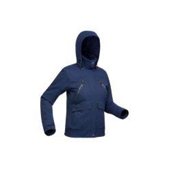 Kurtka turystyczna SH500 x-warm damska. Niebieskie kurtki damskie QUECHUA. Za 299.99 zł.