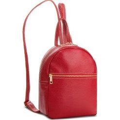 Plecak CREOLE - K10551  Czerwony. Czerwone plecaki damskie Creole, ze skóry, eleganckie. Za 209.00 zł.
