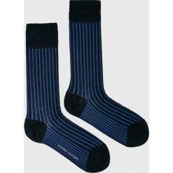 Tommy Hilfiger - Skarpety. Niebieskie skarpety męskie Tommy Hilfiger, z bawełny. W wyprzedaży za 19.90 zł.