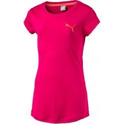 Puma Koszulka Active Dry Ess Tee G Love Potion 116. Różowe t-shirty i topy dla dziewczynek Puma, z materiału. W wyprzedaży za 44.00 zł.