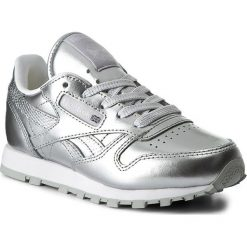 4a84086054c1e Buty Reebok - Classic Leather Metallic BS7459 Silver/White. Półbuty  chłopięce marki Reebok.