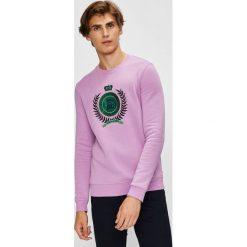 Scotch & Soda - Bluza. Różowe bluzy męskie Scotch & Soda, z aplikacjami, z bawełny. W wyprzedaży za 269.90 zł.