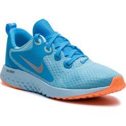 Buty NIKE - Legend React (GS) AH9437 400 Blue Chill/Metallic Silver. Niebieskie obuwie sportowe damskie Nike, z materiału. W wyprzedaży za 269.00 zł.