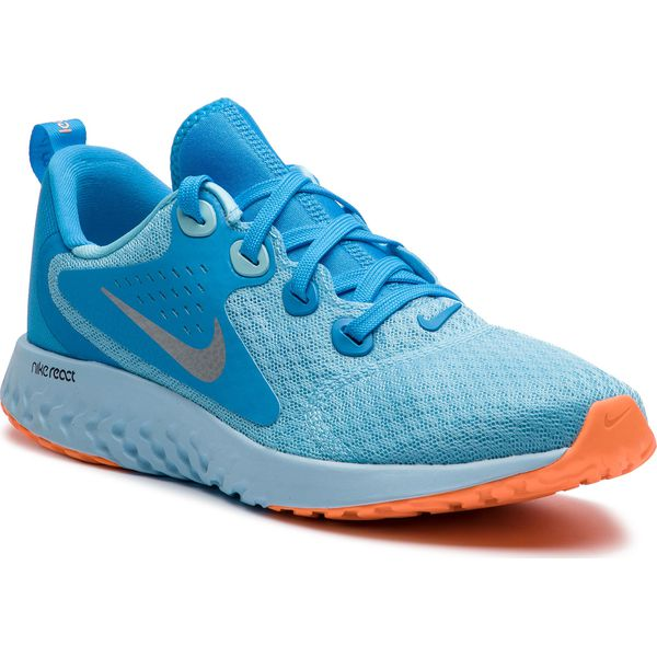 b170a422 Buty NIKE - Legend React (GS) AH9437 400 Blue Chill/Metallic Silver ...