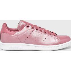 Adidas Originals - Buty Stan Smith. Różowe obuwie sportowe damskie adidas Originals, z materiału. Za 389.90 zł.