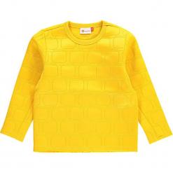 """Bluza """"Sebastian 707"""" w kolorze żółtym. Zielone bluzy dla chłopców marki Lego Wear Fashion, z bawełny, z długim rękawem. W wyprzedaży za 92.95 zł."""