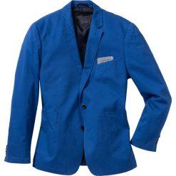"""Marynarka bawełniana """"Regular Fit"""" bonprix niebieski. Marynarki męskie marki Giacomo Conti. Za 149.99 zł."""
