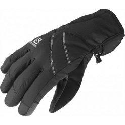 Salomon Rękawiczki Narciarskie Icon Gtx W Black S. Czarne rękawiczki damskie Salomon, na zimę, z gore-texu. W wyprzedaży za 209.00 zł.
