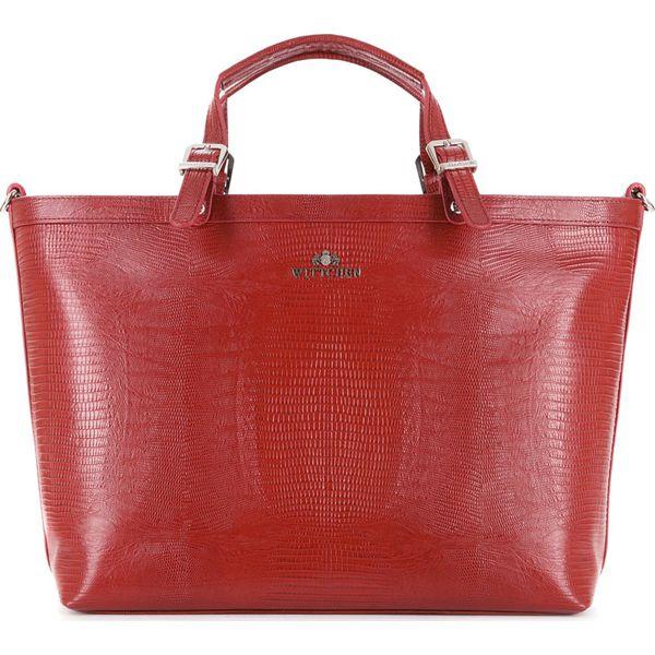 ac6343a5272d5 Torebka damska 15-4-204-3J - Czerwone torebki do ręki damskie marki  Wittchen