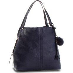 Torebka JENNY FAIRY - RH2021 Navy. Niebieskie torebki do ręki damskie Jenny Fairy, ze skóry ekologicznej. Za 119.99 zł.