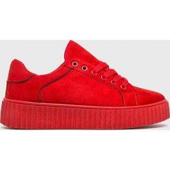 Answear - Buty Seastar. Czerwone obuwie sportowe damskie ANSWEAR, z materiału. W wyprzedaży za 69.90 zł.